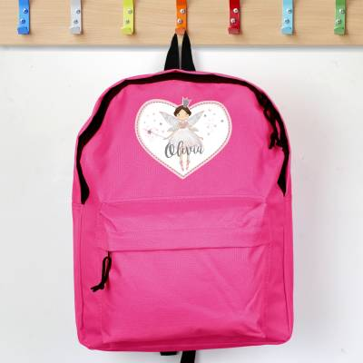 Personalised Fairy Princess Pink Backpack - Fairy Gifts