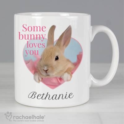 Personalised Rachael Hale 'Some Bunny' Mug