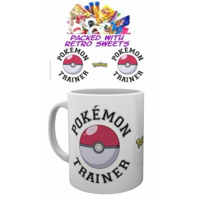 Pokemon Trainer Cuppa Sweets - Pokemon Gifts
