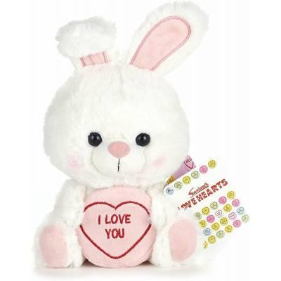 I Love You Swizzels Love Hearts Bunny 18cm