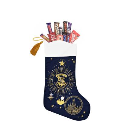 Harry Potter Hogwarts Chocolate Christmas Stocking