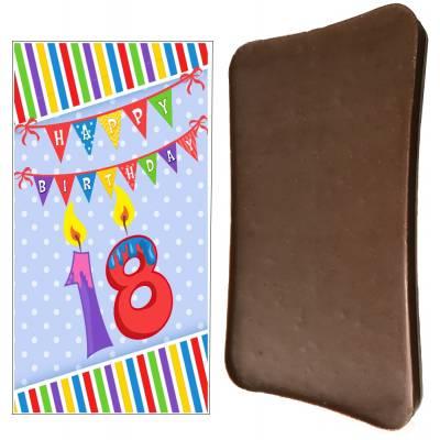 Happy 18th Birthday Chocolate Bar