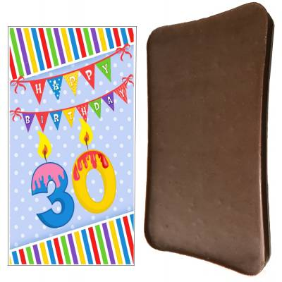 Happy 30th Birthday Chocolate Bar