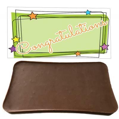 Congratulations Chocolate Bar