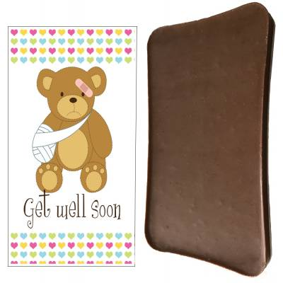 Get Well Soon Chocolate Bar