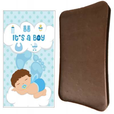 It's A Boy Chocolate Bar