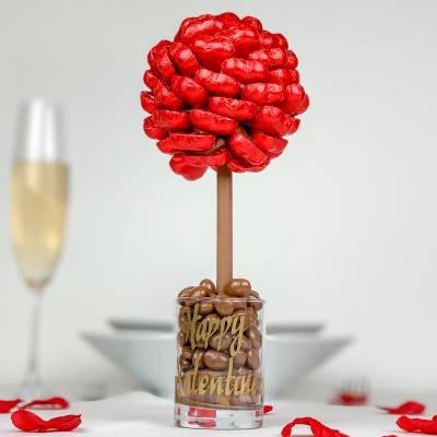 Red Chocolate Heart Tree
