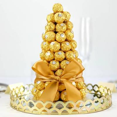 The Ambassadors Party Ferrero Rocher Centre Piece