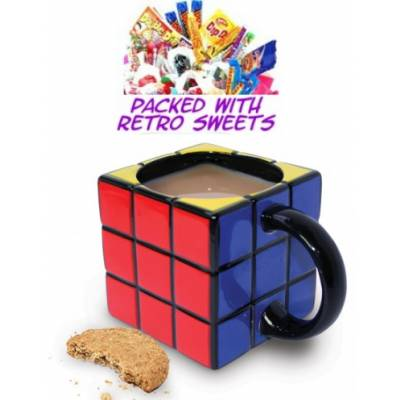 Rubiks Cube Cuppa Sweets