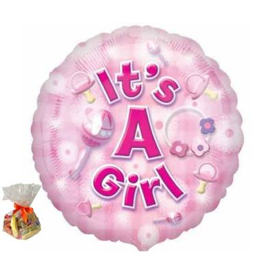 It's A Girl Sweet Balloon