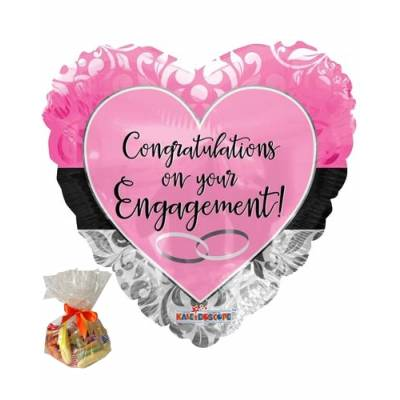 Engagement Pink Sweet Balloon