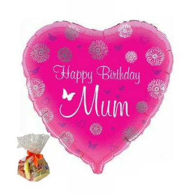 Happy Birthday Mum Sweet Balloon