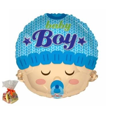 New Baby Boys Head Sweet Balloon