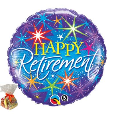 Happy Retirement Sweet Balloon
