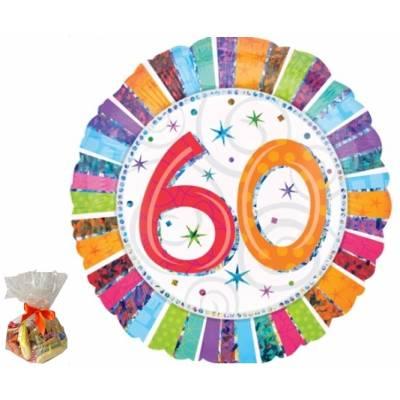 Happy 60th Birthday Sweet Balloon