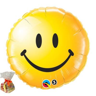 Smiley Face Sweet Balloon