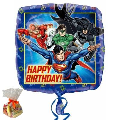 Justice League Sweet Balloon