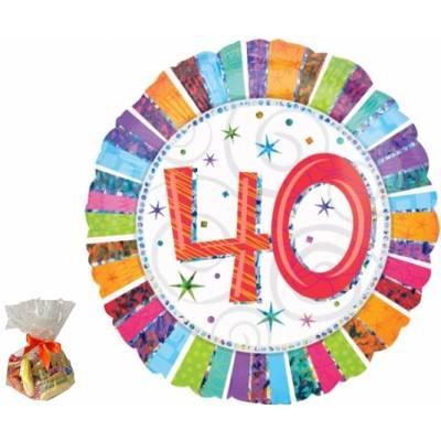 40th Birthday Sweet Balloon