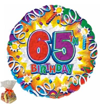 65th Birthday Sweet Balloon