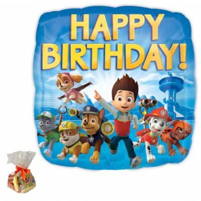 Paw Patrol Happy Birthday Sweet Balloon