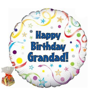 Happy Birthday Grandad Sweet Balloon