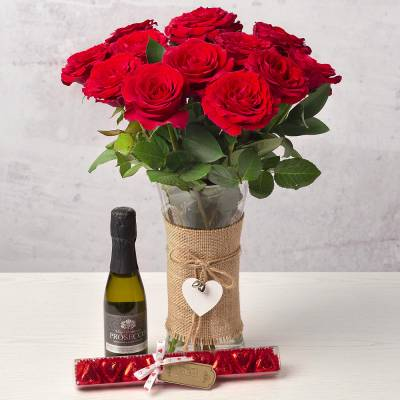 The Red Roses Gift Set