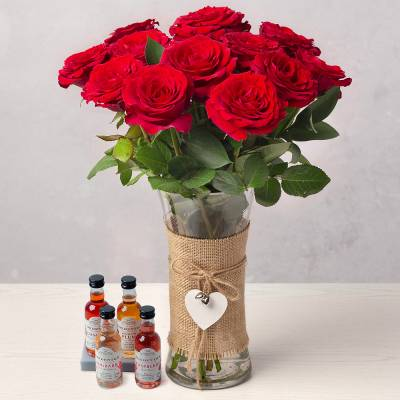 Red Roses and Gin Gift