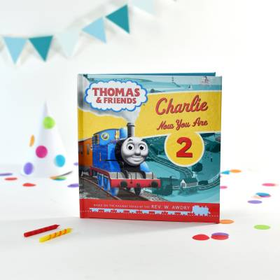 Personalised Thomas the Tank Engine Birthday Book - Thomas The Tank Engine Gifts