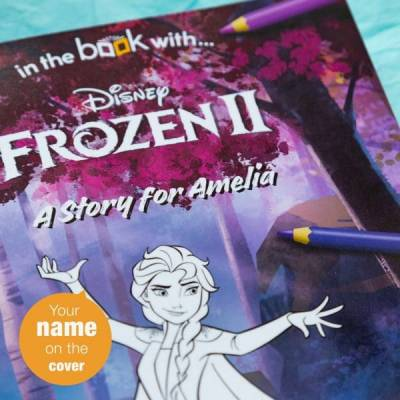Personalised Frozen 2 Colouring Storybook