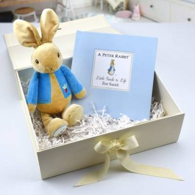 Personalised Peter Rabbit Guide to Life Set