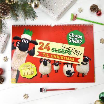 Shaun the Sheep 24 Sheeps Activity Advent Calendar