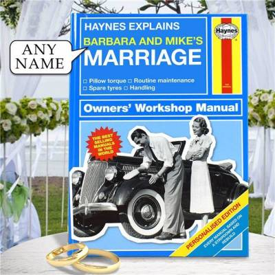 Personalised Haynes Explains Marriage