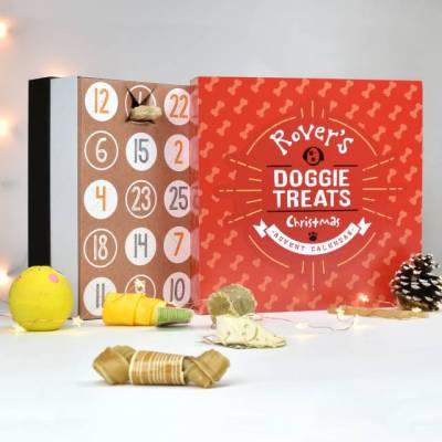 Personalised Dog Treats Advent Calendar