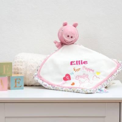 Personalised Peppa Pig Comfort Blanket