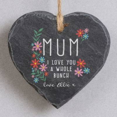 Personalised Love You Mum Slate