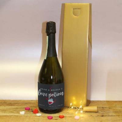 Love Potion Personalised Prosecco