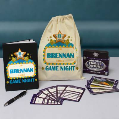 Personalised Family Fortunes Gift Set
