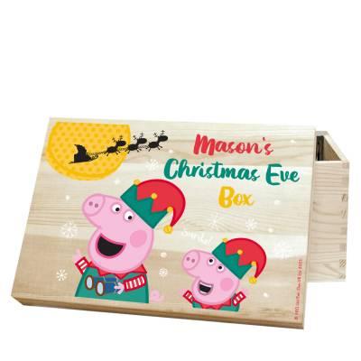 Personalised Peppa Pig Christmas Eve Box