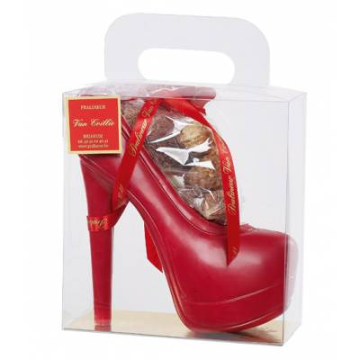 Chocolate Shoe Filled With Chocolates