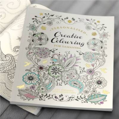 Personalised A4 Creative Colouring Book
