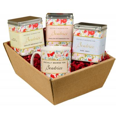 Personalised Tea Lovers Hamper