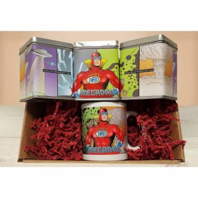 Personalised Mega Dad Tea Hamper