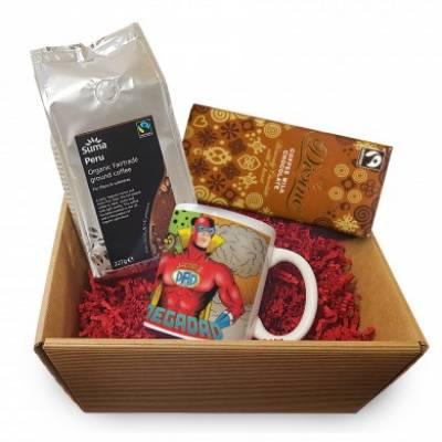Personalised Mega Dad Coffee Hamper - Hamper Gifts