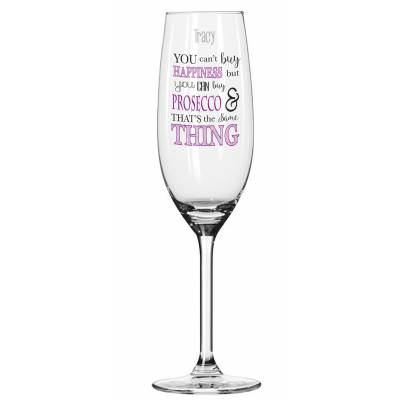 Personalised Prosecco Glass - 18th Birthday Gifts