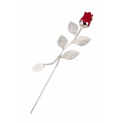 Personalised Forever Red Rose