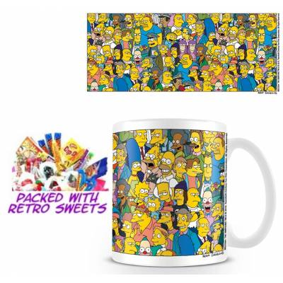 Simpsons Collage Cuppa Sweets