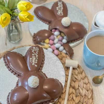 Belgian Chocolate Smash Bunny Bum