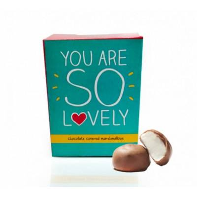 You Are So Lovely Choc Marshmallows
