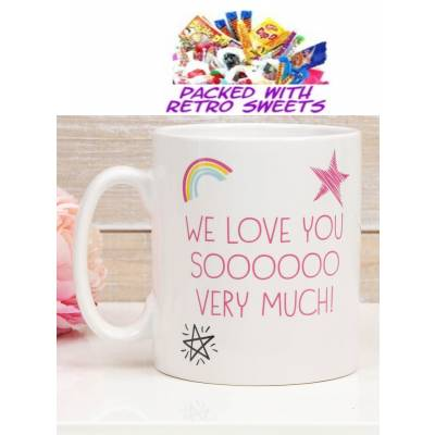 Love You Sooo Much Cuppa Sweets - Funkyhampers Gifts
