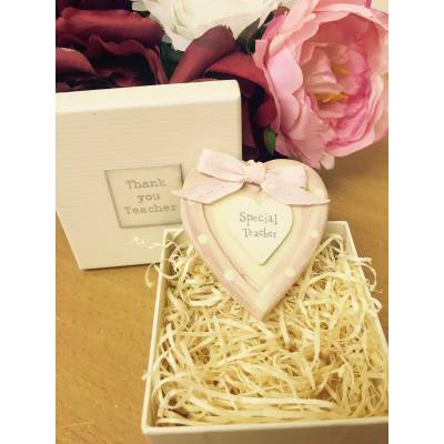 Click to view product details and reviews for Special Teacher Wooden Heart.